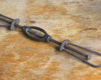 Vintage Metal Industrial Extender Oddity Tool Gadget