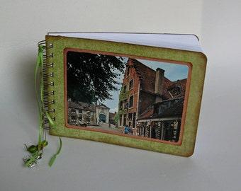 Brugge post card journal