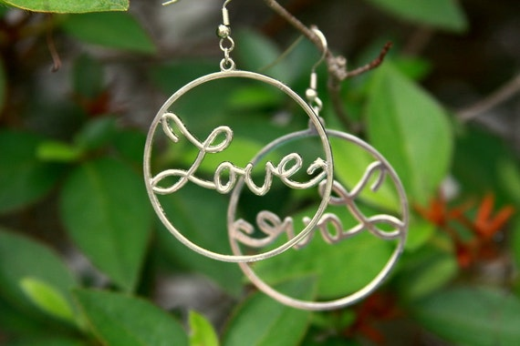 Circle Love Earrings