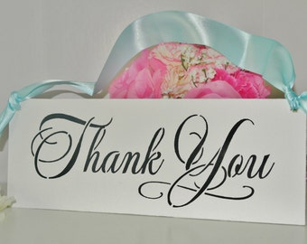 REVERSIBLE/double sided sign/Custom Wedding Signs/Thank you/Just Married/Personalized/Wood Sign
