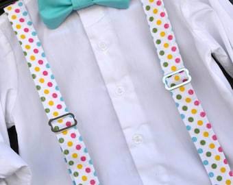 Easter Bowtie, Childs Easter Outfit, Little Boy Easter, Easter Suspenders, toddler bowtie, baby bow tie, boys Easter outfit, boys braces