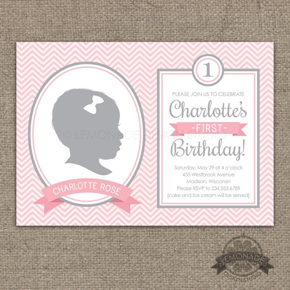 Items Similar To Chevron Silhouette Invitation AND Poster