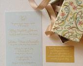 Wedding Information/ Website Invitation Insert Cards