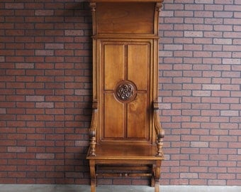 Clergy Chair / Accent Chair / Altar Chair  Bishops Chair ~ From Europe