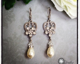 Bridal Earrings, Crystal Earrings, Bridesmaids Earrings, Mother of the Bride/Groom, Bridal Jewelry, Prom Jewelry