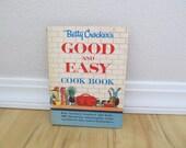 1950s Betty Crocker Cook Book GOOD AND EASY spiral hardbound vintage kitchen decor