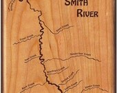 SMITH RIVER Map Fly Fishi...
