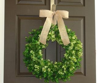 spring wreath summer wreath boxwood wreaths for front door wreaths year round wreath, evergreen wreaths