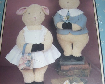 Sweet William & Ivy Lamb Pattern