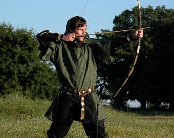 20% DISCOUNT! Bowman Archer Elven Tunic Surco Medieval Fantasy Fairy Costume