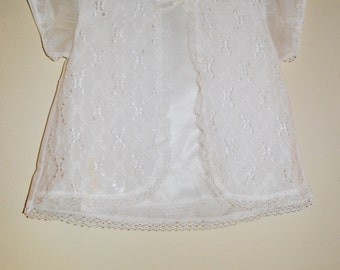 Vintage Baptismal gown, white christening outfit, baby girl baptismal outfit, naming ceromony.baby shoes,baby bonnet