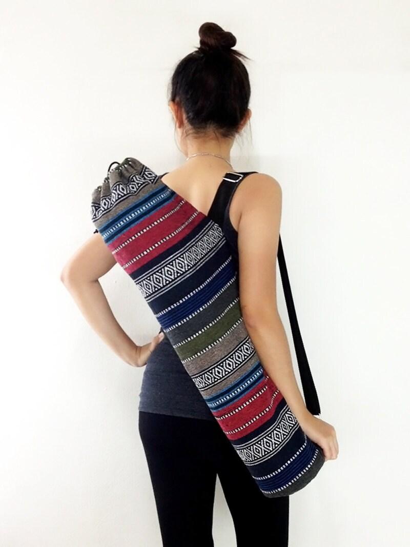 Handmade Yoga Mat Bag Yoga Bag Sports Bags Tote Yoga Sling Bag
