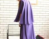 SALE WAS 34 - Retro Chiffon Dress