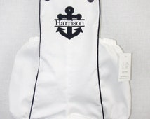 291910 - Baby Boy Sunsuit - Baby Boy Clothes - Baby Boy Nautical Clothes - Baby Boy Nautical Outfit - Twin Babies - Baby Sailor Outfit