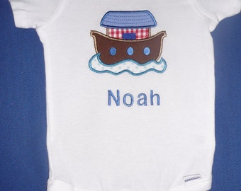 Applique and personalized onesie