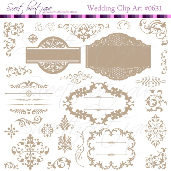 free wedding scrapbook clipart - photo #19