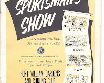 1963 Ninth Annual Northwestern Ontario Sportsman's Show