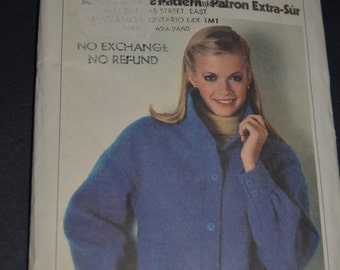 Simplicity 9179 Misses Unlined Jacket Sewing pattern - UNCUT - Sizes 10 12 14