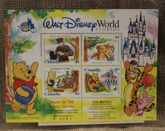 Canadian Winnie the Pooh Stamps