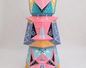 TOTEM X BOICUT / paper sculpture
