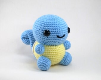 Amigurumi Pokemon Schemi : Crochet Pattern: Amigurumi Chubby Pikachu by CraftyHanako ...