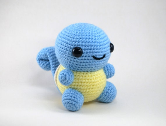 Amigurumi Pokemon Instructions : Crochet Pattern: Amigurumi Chubby Squirtle