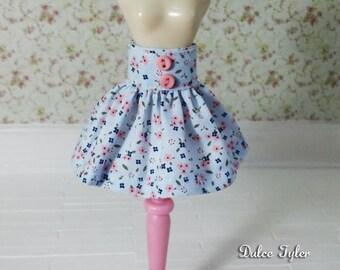 Blythe Skirt - blue liberty