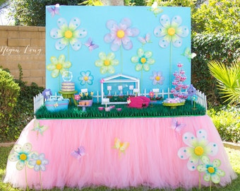 Pink Tutu Table Skirt