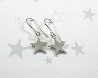 Asterisk earrings 925 sterling silver