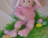 Soft Sculpture Bunny Doll