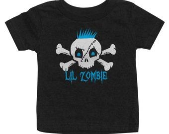 Lil Zombie Boy Skull T-Shirt