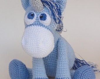Amigurumi Crochet Pattern - Luna the Unicorn