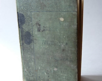 Antique Book, The Werner Arithmetic Oral And Written Book Two Parts 1 and 2