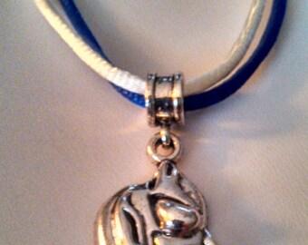 DUKE University Necklace with Duke Charm