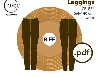 pdf Espresso Leggings Cake Patterns RiFF Nº5555