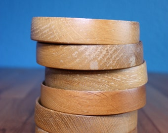 Wooden serving bowls small