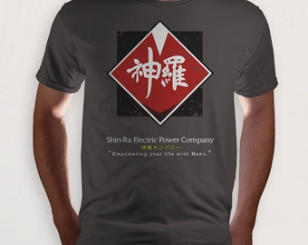 Shinra Electric Company (Final Fantasy VII t-shirt)