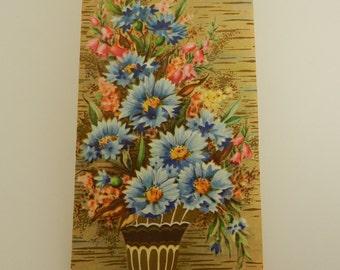 Vintage Unused Birthday Card