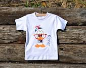 Nerdz RULE the World!  Especially if the Nerdz is Donald Duck.  Cute Shirt By Hoot n Hollar Children's Clothing