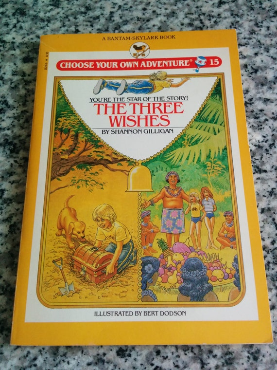 Choose Your Own Adventure 15 Vintage 80s