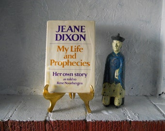 Jean Dixon, Life and Prophecies 1969 Signed First Edition
