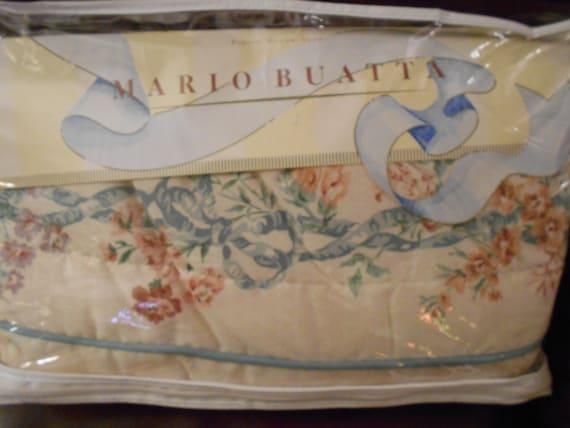 Vintage Floral Chintz King Size Pillow Sham Mario Buatta