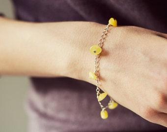 Butterscotch amber bracelet, adult amber bracelet