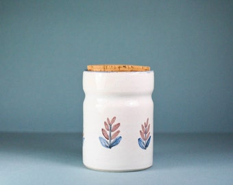 french vintage stoneware pot - handmaded -