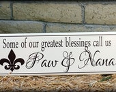 Gifts for Grandparents, Grandparents Sign, Sign With Quote, Great Grandparents Sign, Grandparents Ornament, Valentine Gift, Woodworking Sign