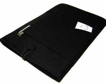 Macbook Pro Case, Macbook Pro Cover, 13 inch Macbook Pro Cover, 13 inch Macbook Pro Case, Laptop Sleeve, Solid Black