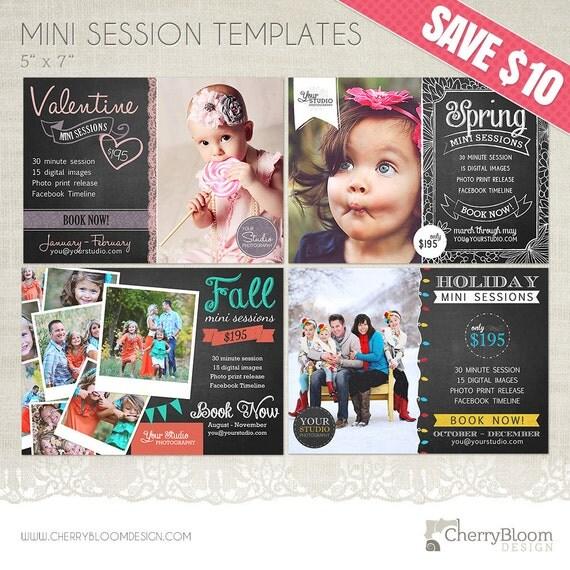 Mini session templates for photographers 4 chalkboard for Free mini session templates for photography