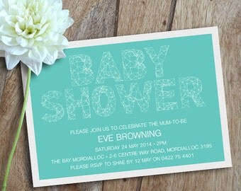 Baby Shower Invitations. Shower Invitations. Baby Shower Invites. Baby Invites - Printable Invite