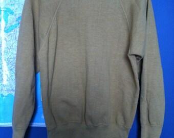 SALE ITEM: Vintage 80s Gold Sweatshirt