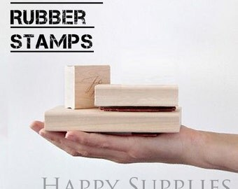 Design You Own Rubber Stamp / Custom Personalized Stamp / Return Address Stamp / Wedding Stamp / Text, Logo or any Graphics Stamp